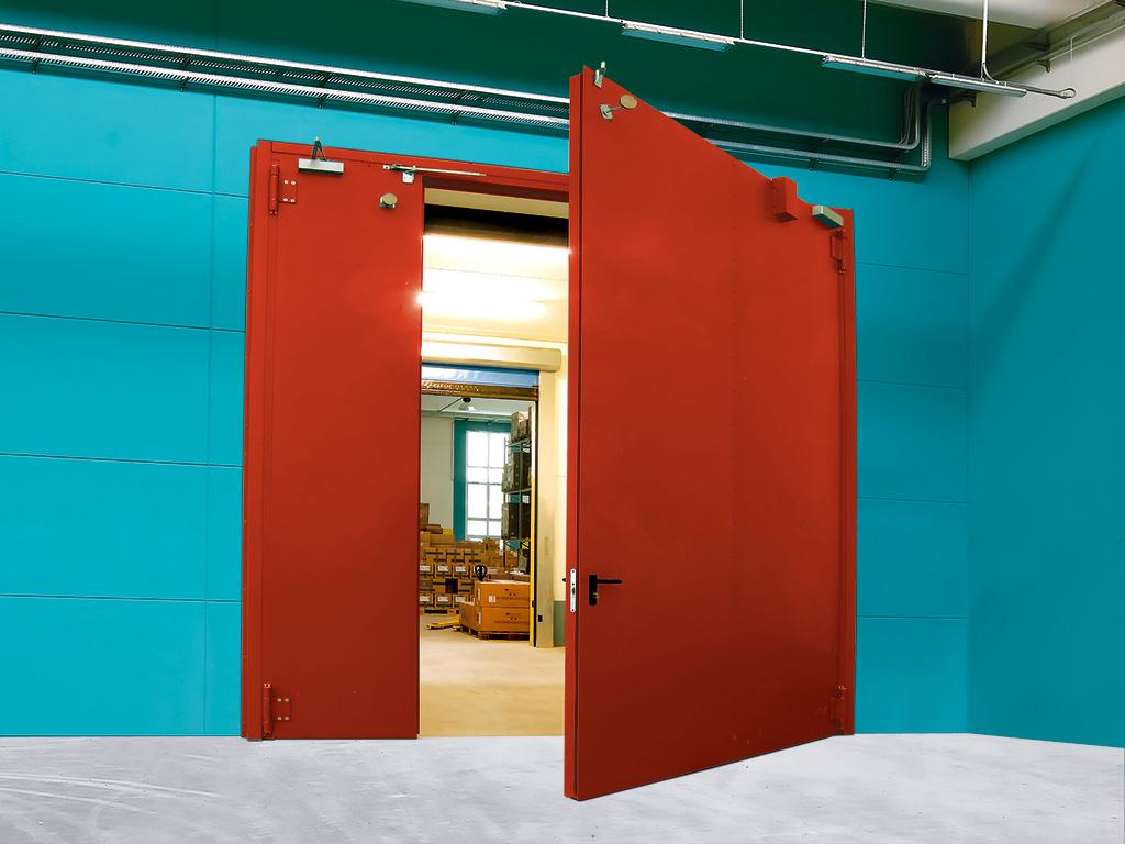 железные двери металлические противопожарные ворота